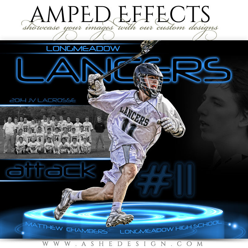 Ashe Design | Amped Effects Sports Templates | Neon Pedestal 1