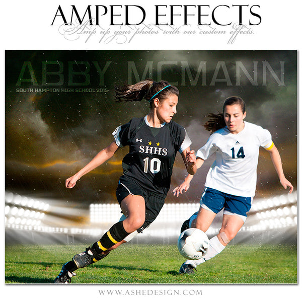 Ashe Design | Amped Effects Sports Templates | Stormy Arena soccer