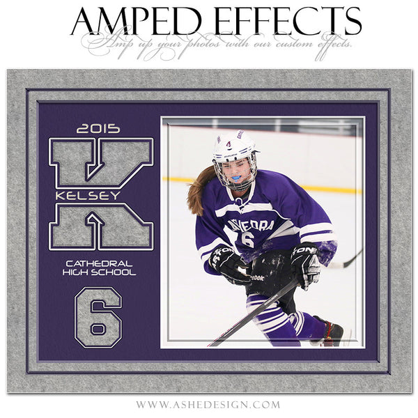 Amped Effects | Varsity Letter Felt