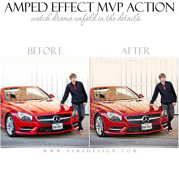 Ashe Design | Photoshop Action | Amped Effect MVP  4