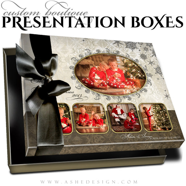 Joyful & Triumphant Custom Boutique Presentation Box 8x10 HZ template