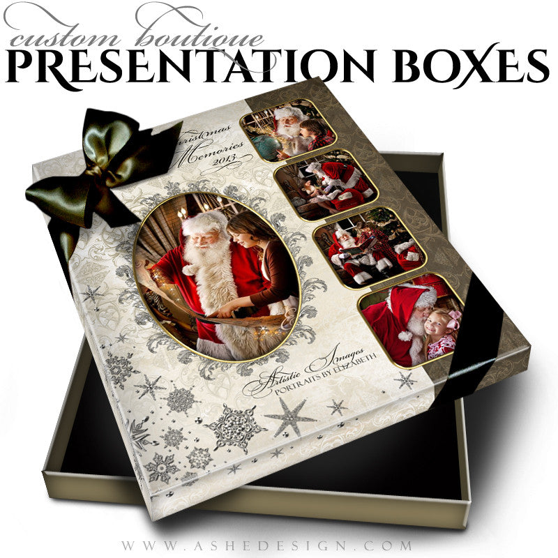 Joyful & Triumphant Custom Boutique Presentation Box 8x10 VT  template