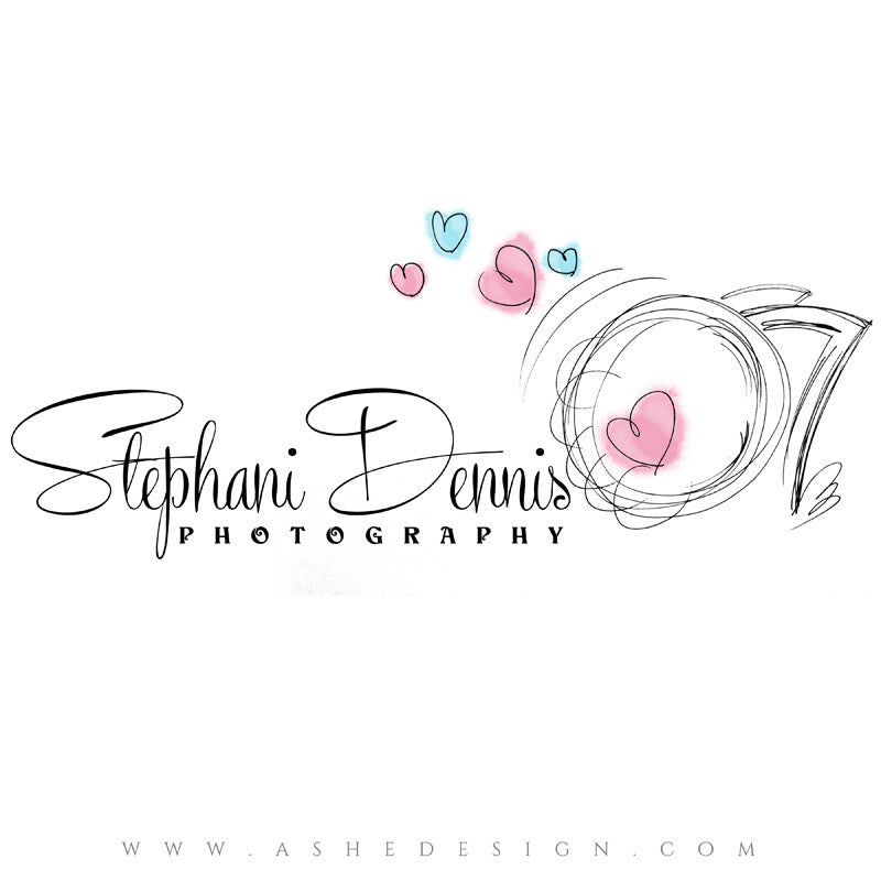 Photography Logo Design | Camera Doodle