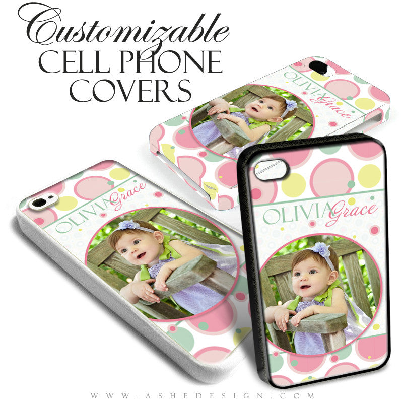 Cell Phone Cover Designs - Bubble Gum Pink