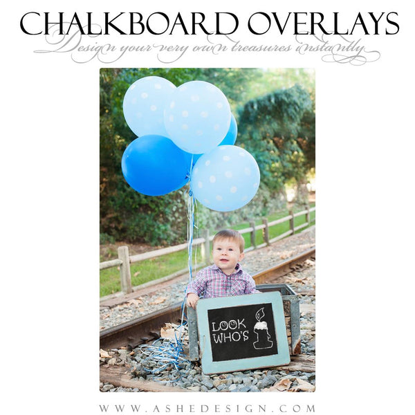 Designer Gems - Chalkboard Overlays - Party Time example 1 web display