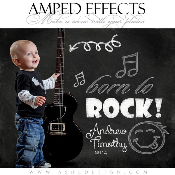 Ashe Design | Amped Effects | Chalkboard Scenes | Kid Rock Doodle example3 web display
