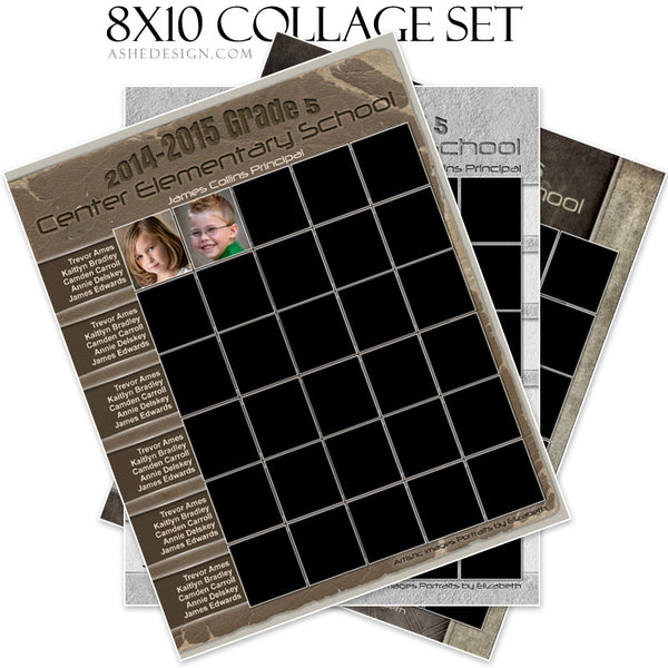 Collage Template Set | Classmates