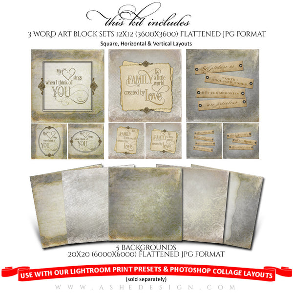 Collage Accessory Kit | Days To Remember full set web display
