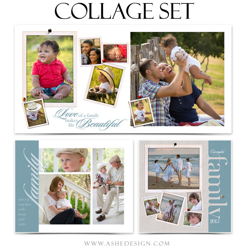 Collage Templates | Family Time 1