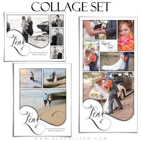 Collage Templates | Simply Worded Love full set
