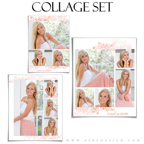 Collage Templates | Color Block full set