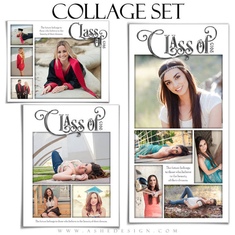 Collage Templates | Simply Worded Grad full set