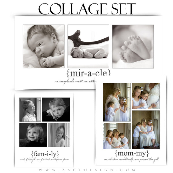 True Meaning Collage Set 8x10,10x20,11x14 full set web display
