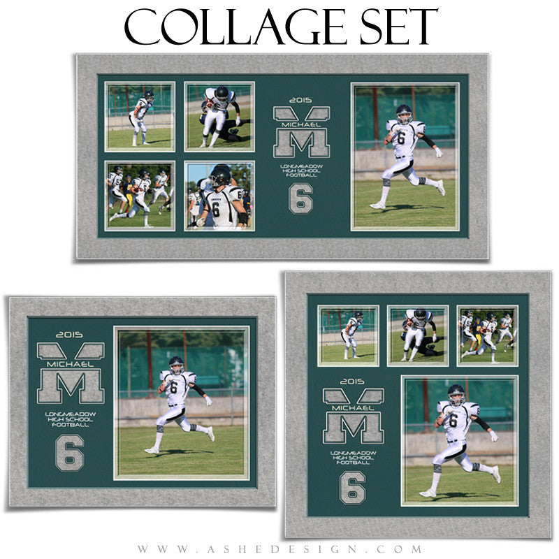 Sports Collage Set | Varsity Letter Felt