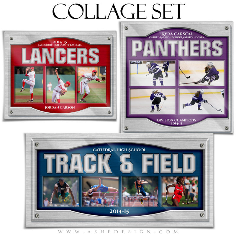 Sports Collage Set | On Display