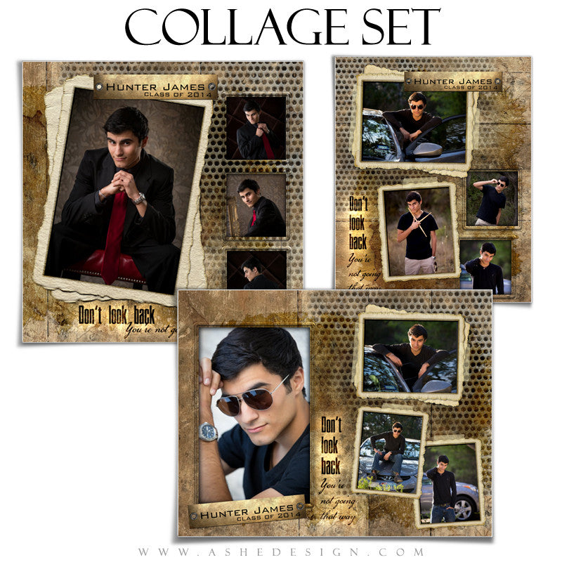 Hunter James 8x10 Collage Templates for Photographers