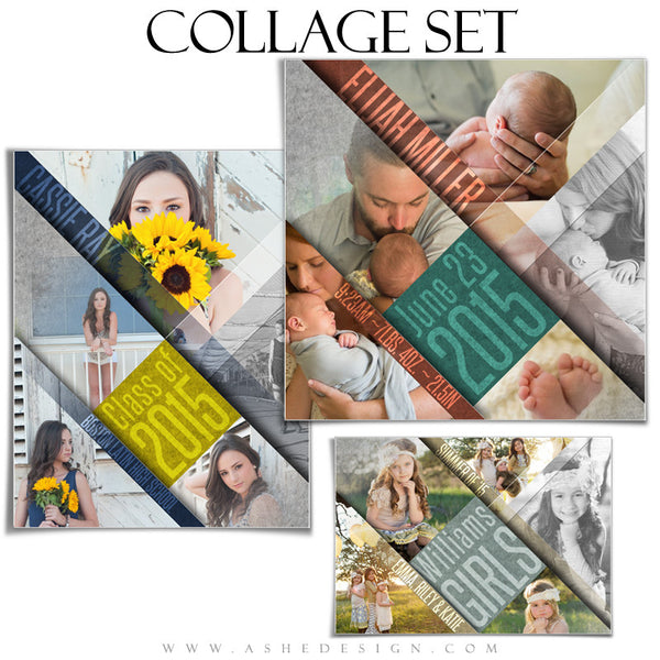 Family Collage Set | Angled