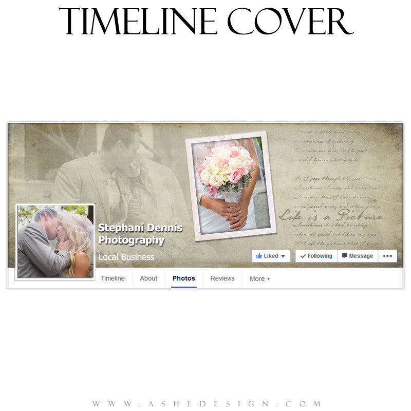 Timeline Cover Template | Life Is A Picture