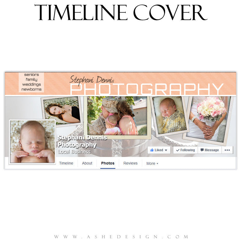 Timeline Cover Template | Photo Shoot