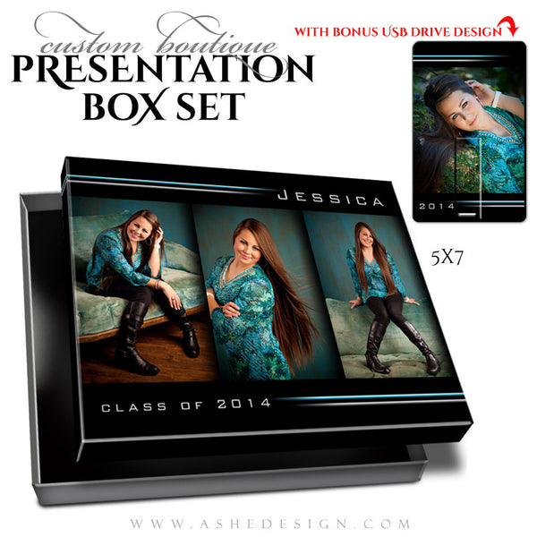 Boutique Presentation Box Set | Streak Of Light 5x7 + USB