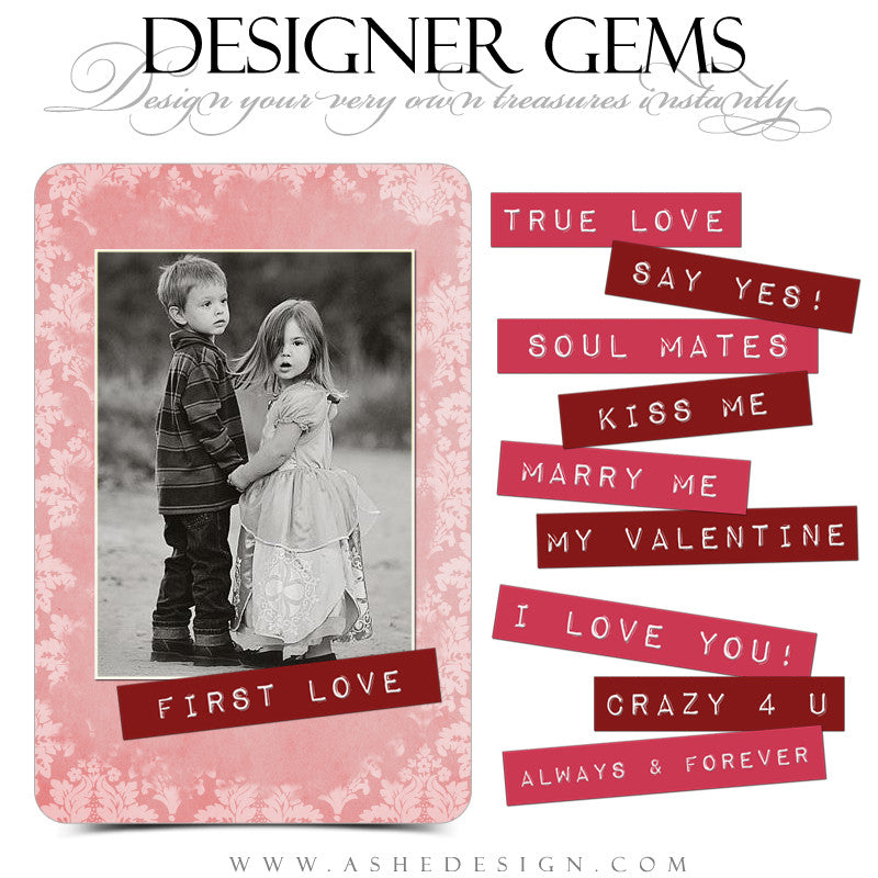 Valentine Designer Gems | Love Labels