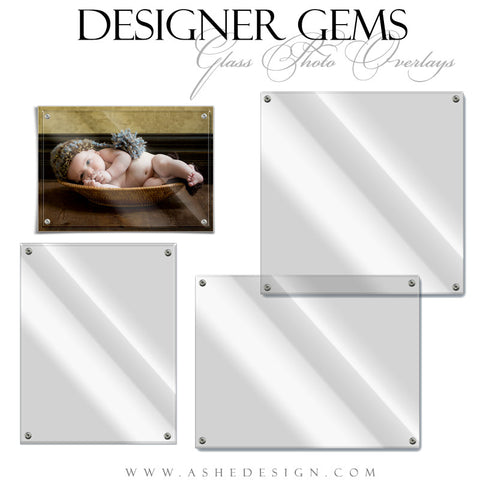 Designer Gems | Glass Photo Overlays full set