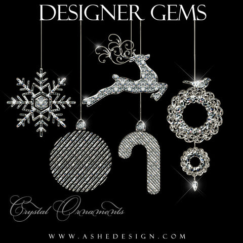 Designer Gems for Photoshop | Crystal Ornaments