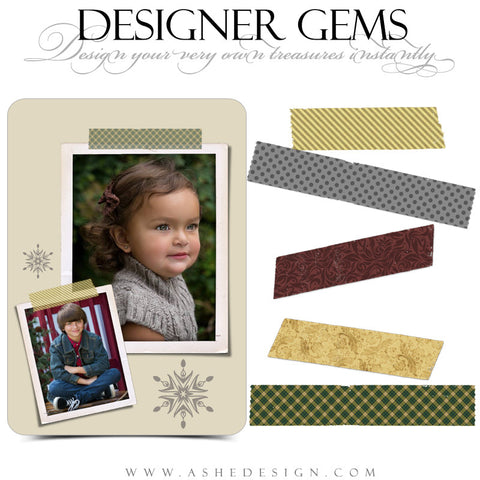 Designer Gems - Patterned Tapes web display