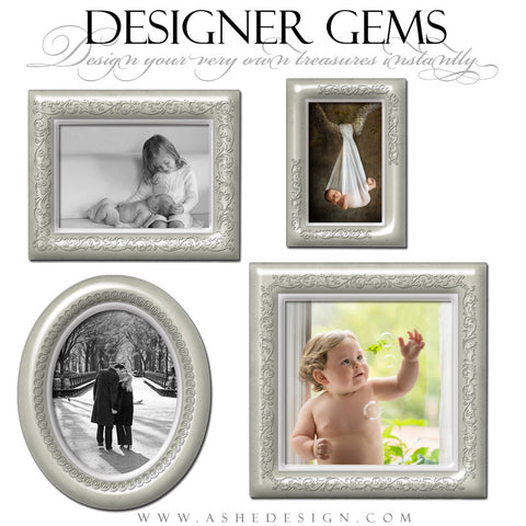 Designer Gems - Porcelain Frames full set web display