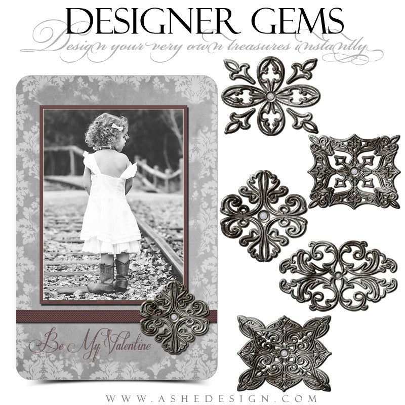 Pewter And Pearl Embellishments full set web display