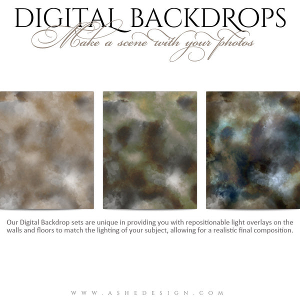 Digital Props Backdrops | Old World Masters 02 full set web display