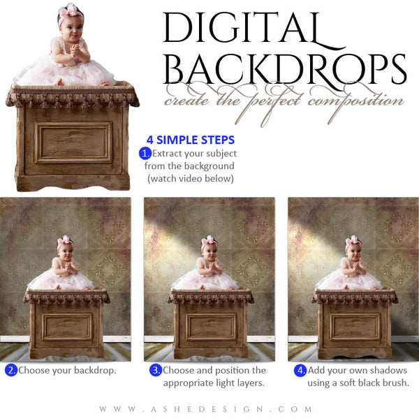 Digital Props - Backdrops - Savannah How To web display