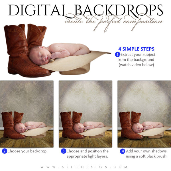 Digital Props Backdrops - Vienna HOW TO web display