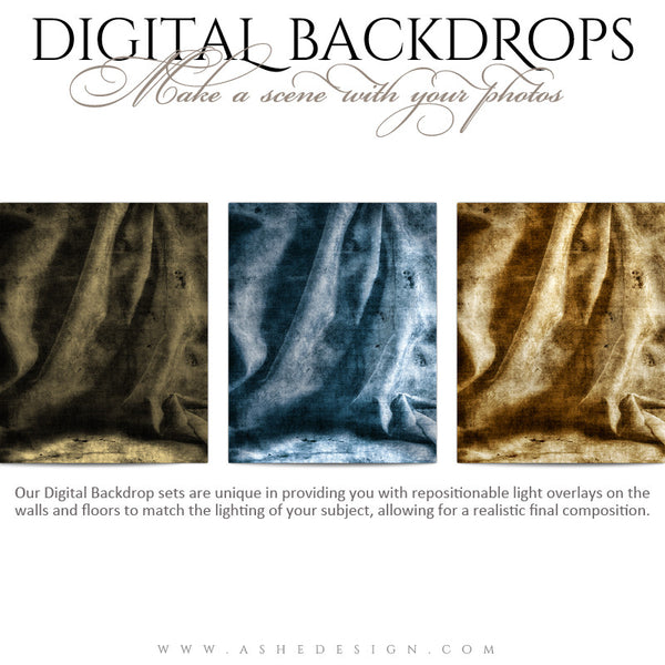 Paris backdrops full set web display