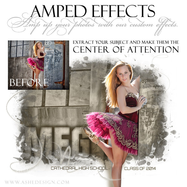 Ashe Design | Amped Effects | Center Of Attention example1