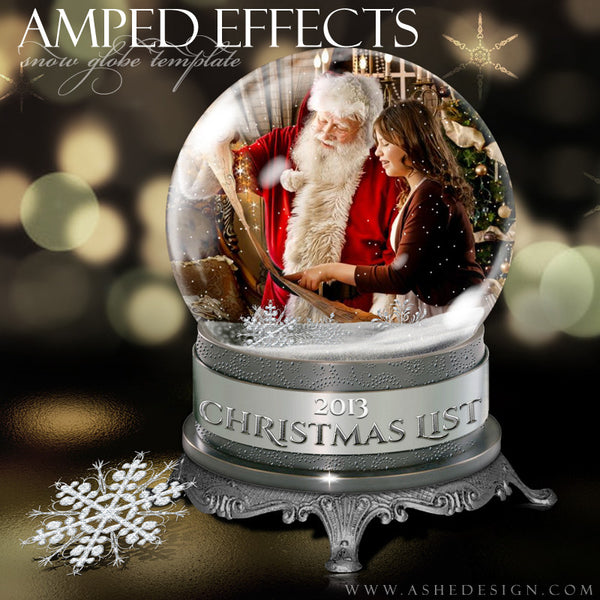 Ashe Design | Snow Globe Amped Effect Example 2 template
