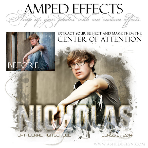 Ashe Design | Amped Effects | Center Of Attention example2