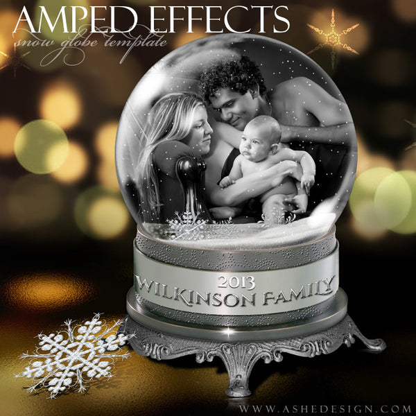 Ashe Design | Snow Globe Amped Effect Example 3 template