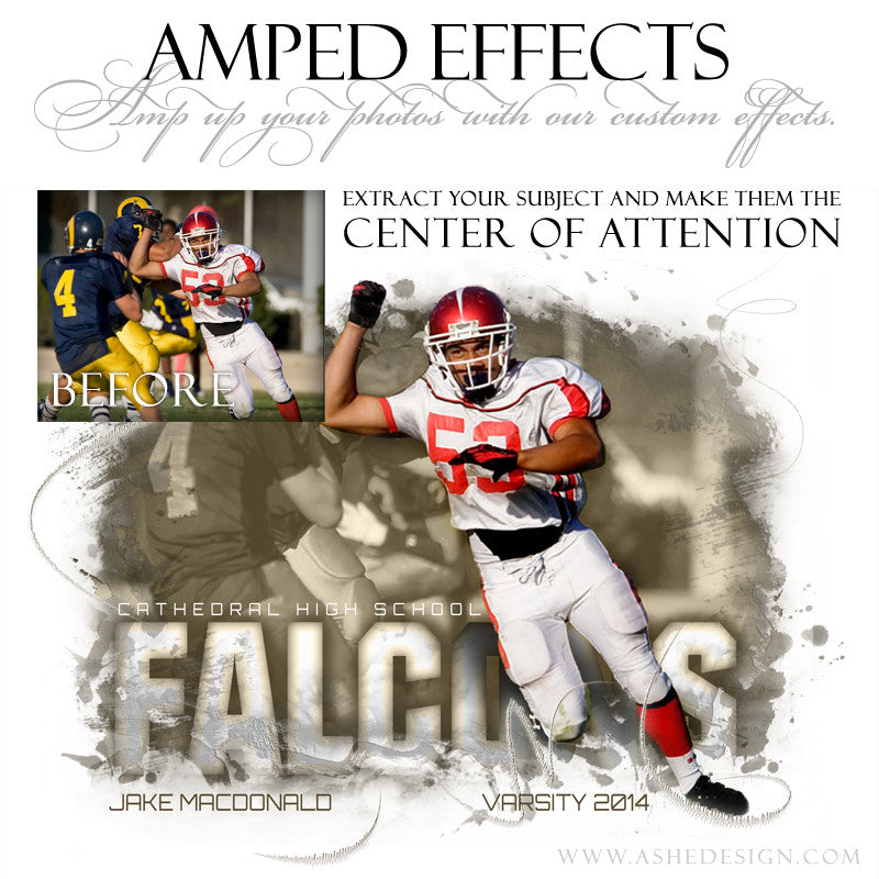 Ashe Design | Amped Effects | Center Of Attention example3