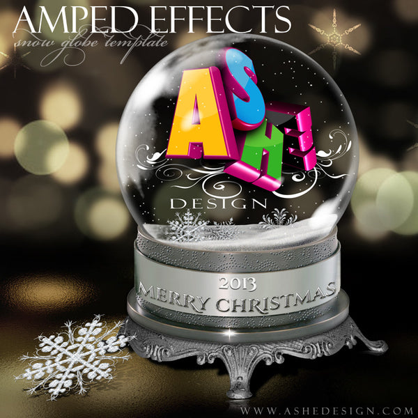 Ashe Design | Snow Globe Amped Effect Example 4 template