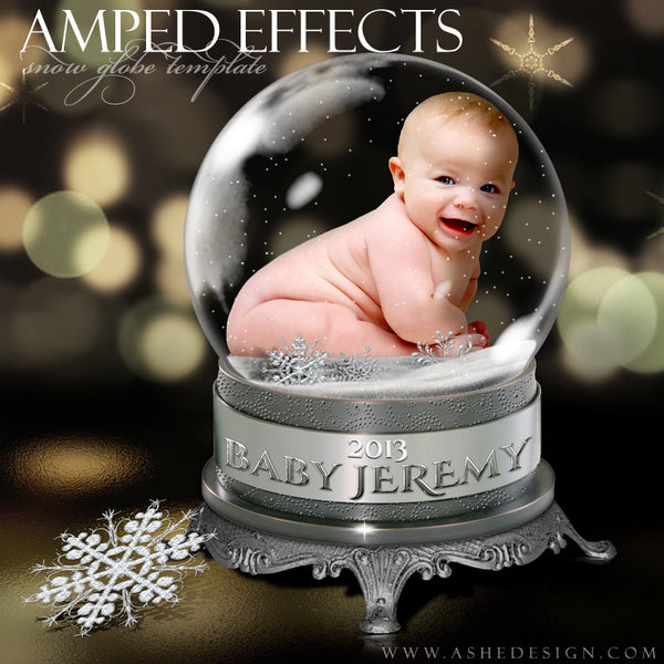 Ashe Design | Snow Globe Amped Effect Example 5 template