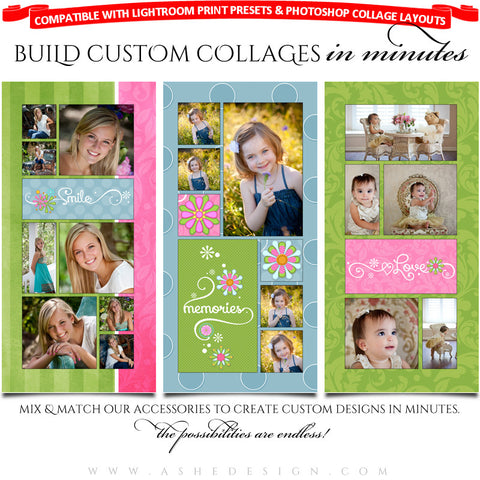 Collage Accessory Kit - Spring Fling
