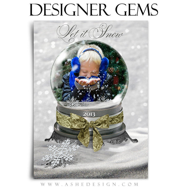 Designer Gems - Silver Damask Ribbons example web display