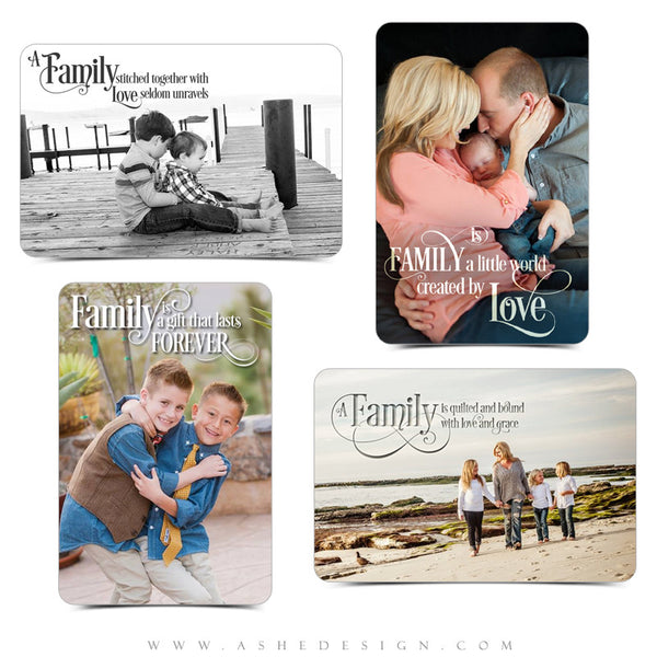 Word Art Collection - Family Is Everything examples web display