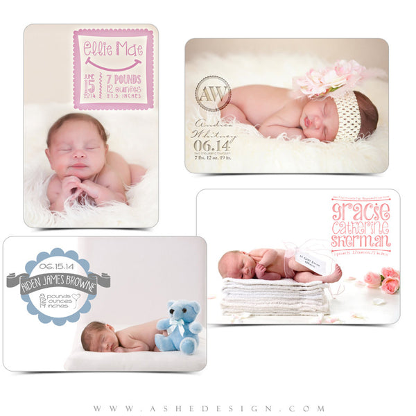 Newborn Word Art | Welcome Little One examples