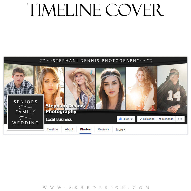 Across The Board Timeline Cover Template