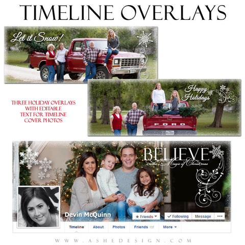 Designer Gems | Facebook Timeline Holiday Overlays