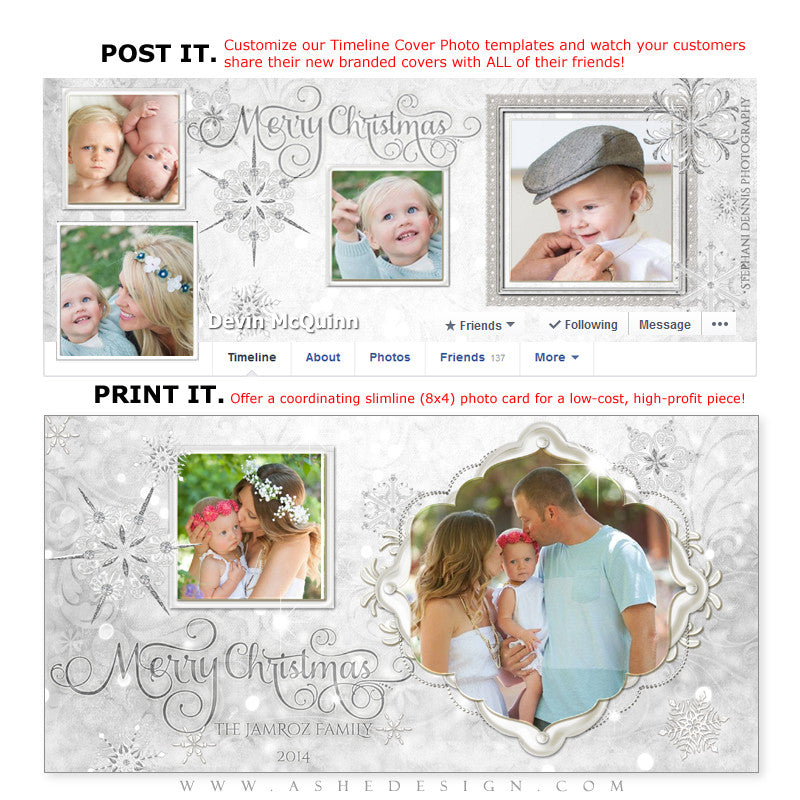 Post & Print Templates | Snow Babies
