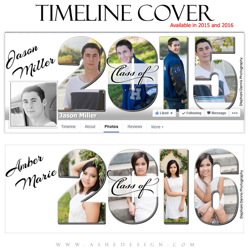 Senior Timeline Cover | Class Of 2016