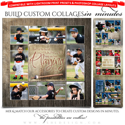 Sports Collage Accessory Kit | Play Ball examples